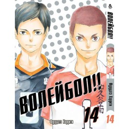 Волейбол!! Том 14